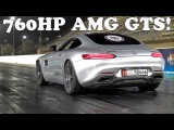 760HP Mercedes-AMG GT S PP Performance 14 Mile Run