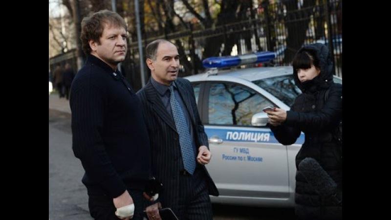 Емельяненко устроил скандал во Внуково, опоздав на рейс в Грозный