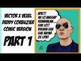 Vector x Vexel Deddy Corbuzier Comic Version | Photoshop Tutorial #Part1 Style by Eno ONf