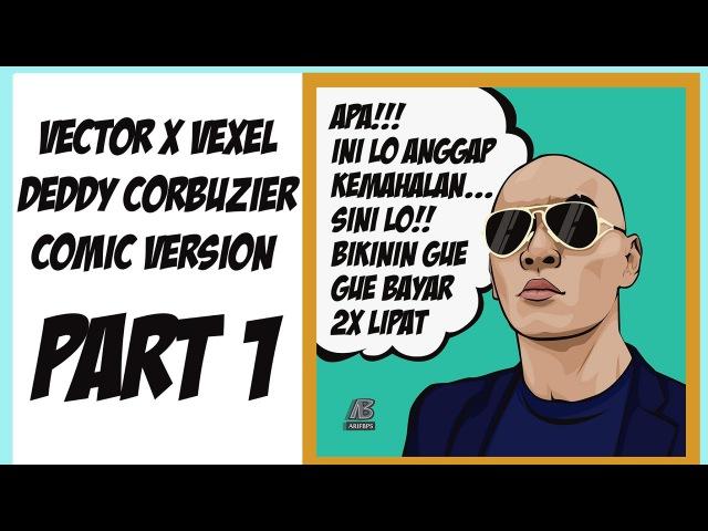 Vector x Vexel Deddy Corbuzier Comic Version Photoshop Tutorial Part1 Style by Eno ONf