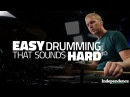 Easy Drumming Independence That Sounds Hard Drum Lesson Drumeo