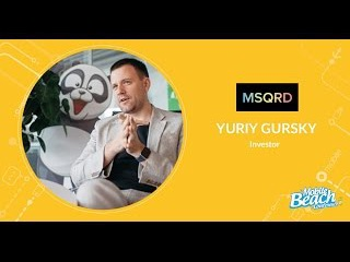 Юрий Гурский, MSQRD