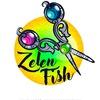 сумки ручной работы • zelen fish •