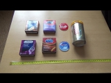 Сравнение презервативов Contex, Durex и Elasun