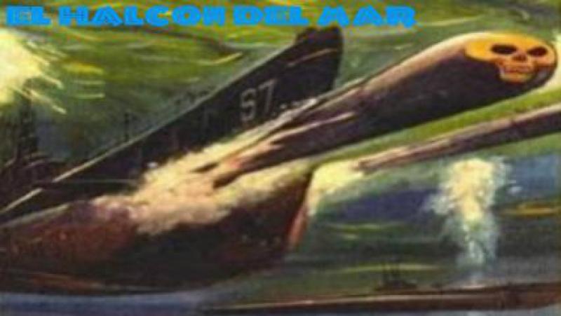2ª Guerra.-El halcón marino.-(1958).Español