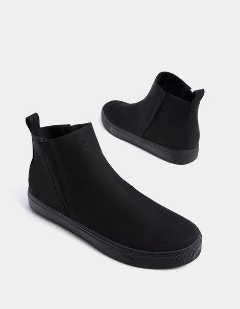 Мужские спортивные ботинки с эластичными вставками