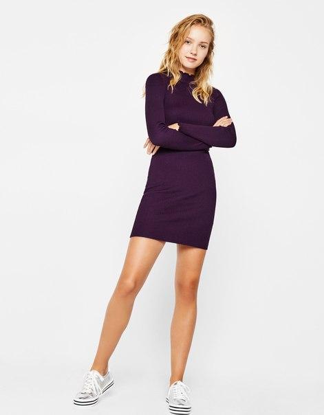 Облегающее мини-платье
