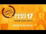 GREEK SALAD Dance Camp17.  SHOWCASE PROFI - NADYA & INGA