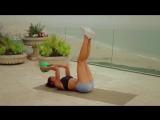 10 min Beginner Abs  Core Medicine Ball Workout 50-100 Calories