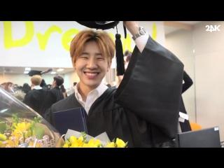 [24K TV] [16.02.17] 24K TV - Changsun's graduation from the university