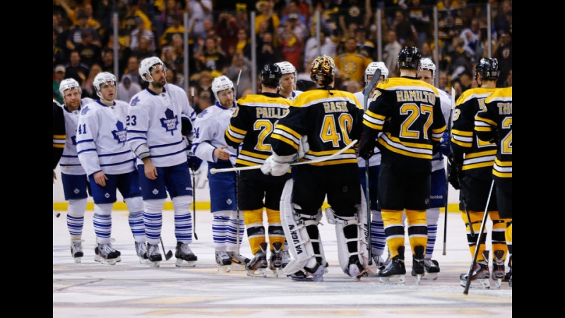 Stanley Cup Playoffs 2013 ECQF Game 7 Toronto Maple Leafs-Boston Bruins