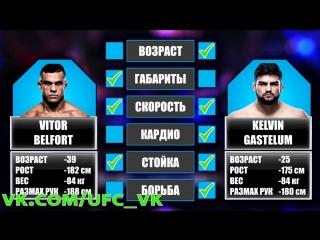 Разбор боя Витор Белфорт против Келвина Гастелума на РУССКОМ!