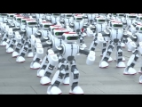 Massive robot dance - Guinness World Records