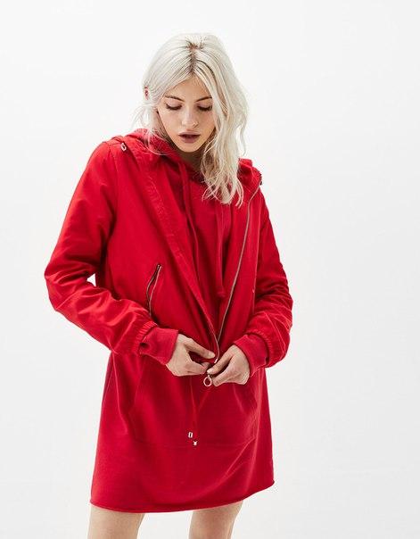 Куртка из нейлона с капюшоном