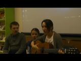 певческое трио Марина и Алёна Карусевы и Алексей Котов с песней гр.