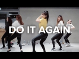 1Million dance studio Do It Again - Pia Mia ft. Chris Brown & Tyga / Beginners Class