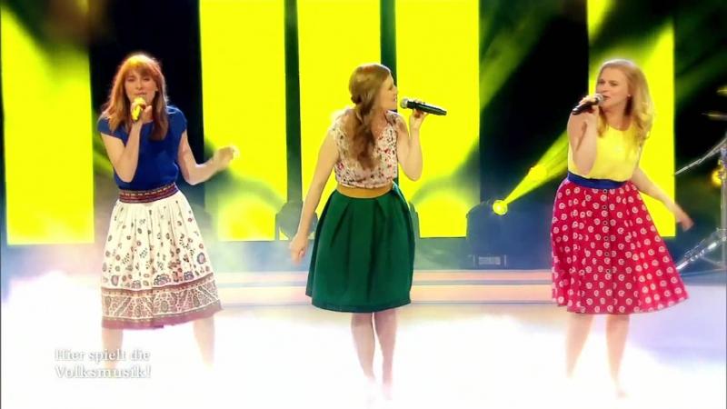Poxrucker Sisters DSun geht auf Hier spielt die Volksmusik
