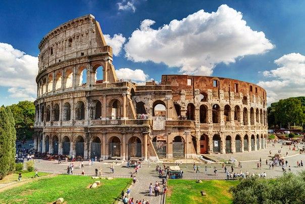 Римские амфитеатры
