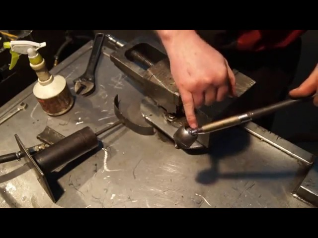 Рулевая тяга и наконечник