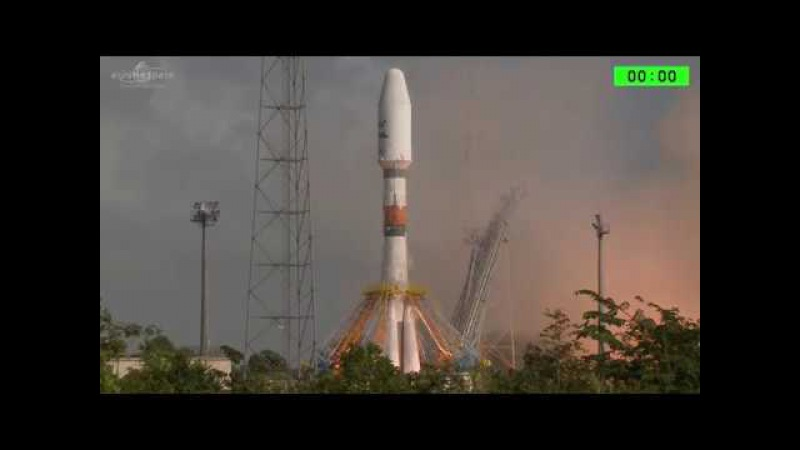 Soyuz lifts off from French Guiana with SES-15