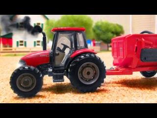 TRAKTOR auf dem Bauernhof, Kinderfilm deutsch, LASTWAGEN cartoons für kinder, Autos für kleinkinder