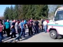 На Косівщині в с Стопчатів протестувальники перекрили дорогу Авто Евро Сила