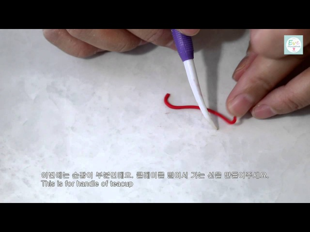미니어쳐 커피잔 컵 만드는 방법 how to make tea cup with polymerclay miniature tutorial crafte