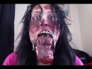 Split Jaw Halloween Makeup Tutorial (The Walking Dead Inspired)