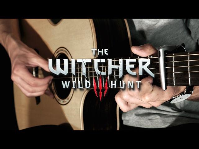 Ard Skellig Village - The Witcher 3 Wild Hunt (Fingerstyle Guitar Cover by Albert Gyorfi) [TABS]