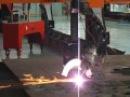 6M Big Width CNC Plasma bevel Cutting Machine Cutting 32mm Stainless Steel