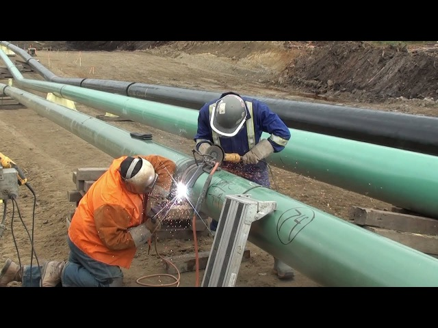 12 Inch Fill And Cap Complete Setup Pipeline Welding