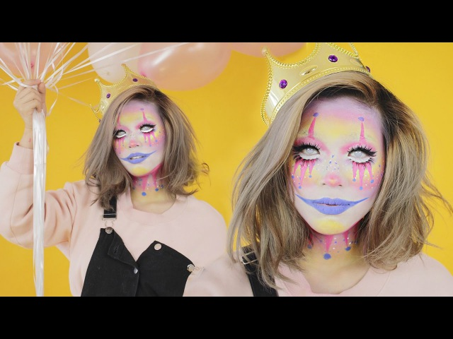 Kawaii Clown Halloween 2016 Collaboration With Gadutism, Ivy Yunita, and ROYCDC | Marcella Febrianne