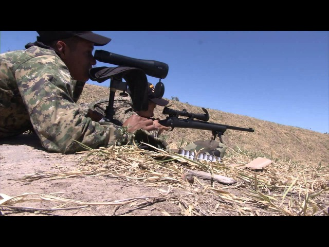 Fuerzas Comando 2014 Snipers compete in targets of opportunity