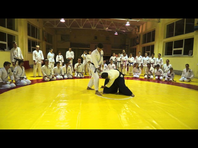 Takehiko Sonoda Shihan 8 Dan AYF (Japan) 07-08112015 Lviv Ukraine