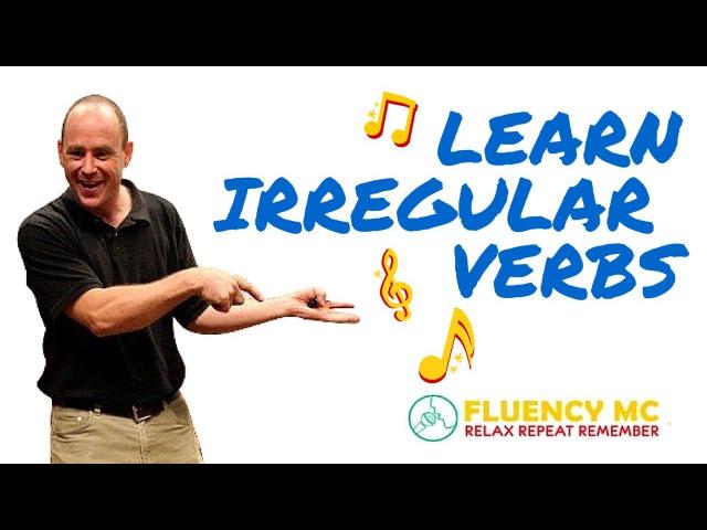 Learn and Speak English Irregular Verbs Grammar Rap Song-Stick, Stuck, Stuck-with Fluency MC