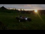 Thunder Tiger MT4 G3  Покатушка  RC technic