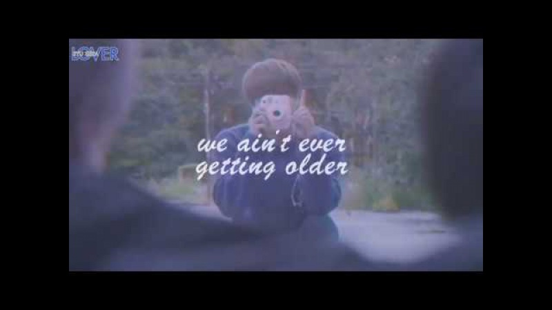BTS/THE CHAINSMOKERS - Young Forever CLOSER MIX V2 LYRIC VIDEO [by RYUSERALOVER]