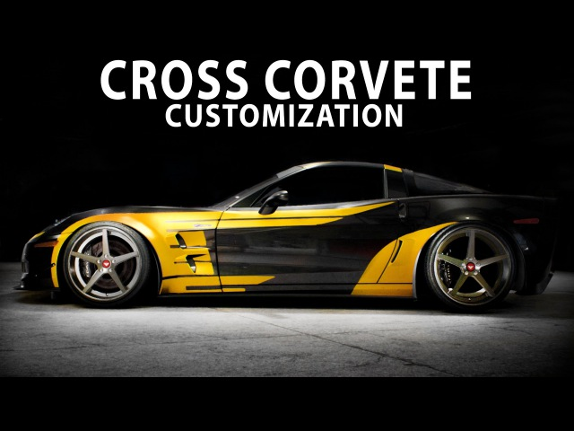 NFS 2015 - CROSS (Unused skin) Chevrolet Corvette Z06 (Cinematic Speed Art Customization PC)
