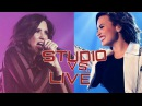 Studio VS. Live - Demi lovato Confident Era