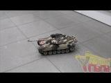 Демонстрация танка HouseHold 4101-8 T-90 Владимир - желтый хаки