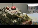 Полный обзор радиоуправляемого танкового боя HQ558N Тигр против Абрамса 1:24