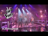 Maxim, Robert Olivier et Samuel  Wasted Love  Les Duels  La Voix Junior 2016