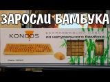 Клавиатура и Мышь из Бамбука Konoos KBKM-01 Bambook Wireless Brown USB