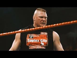 Brutal slow-motion footage of Brock Lesnar's Raw onslaught: Exclusive, Jan. 18, 2017