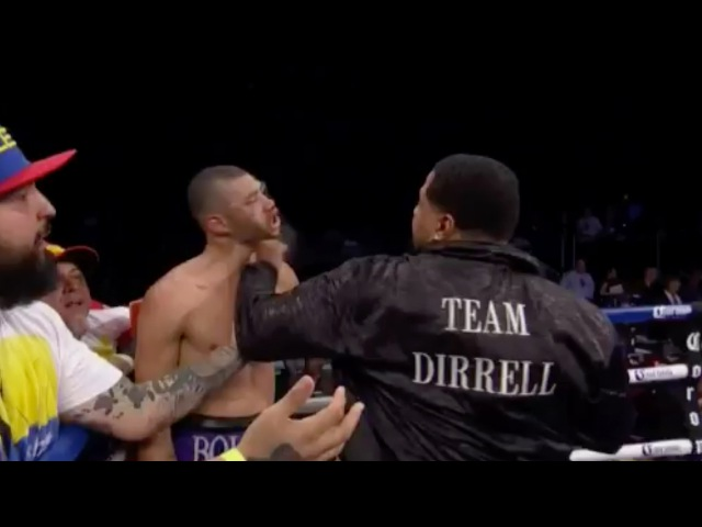 Boxer's Uncle Sneaks in Punch - After Saturday's fight between Andre Dirrell and Jo