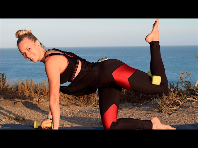 Yoga with Weights- Yoga for Strength - Hybrid Yoga - Yoga Poses for Strength