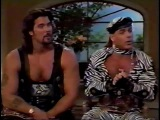 Diesel &amp Shawn Michaels on Regis &amp Kathie Lee 29th August 1994