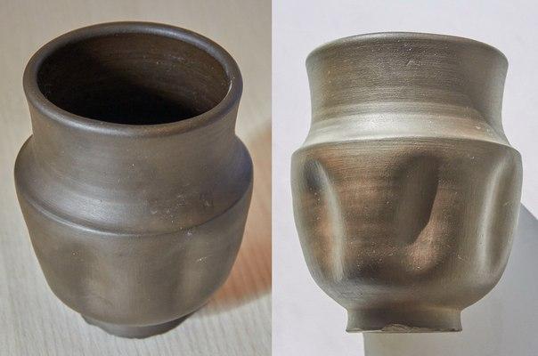 Римский глиняный стакан