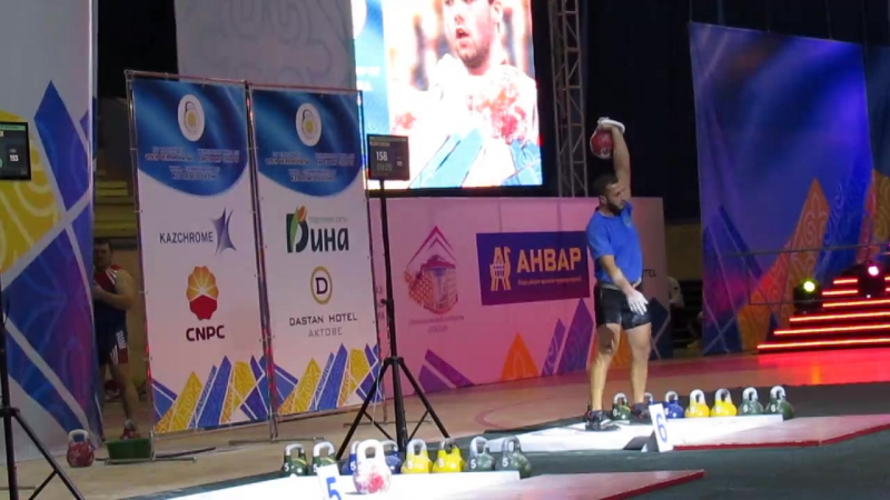 Polmira Kvikvinia, Рывок на ЧМ 2016 Казахстан
