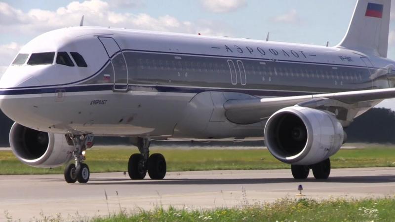 Landing Посадка в Пулково Петербург 28L 28 левая